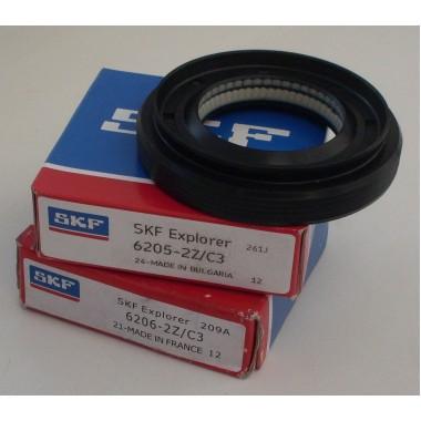Подшипники комплект 6205 skf, 6206 skf, сальник 37x66x9.5/12 для стиральной машины LG  ( Элджи )