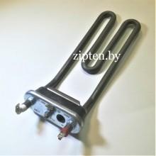 Тэн 1800W C00255085 для стиральной машины Indesit / Ariston (изогнут с отв. A=40, B161, M122, R13, &25°) оригинал