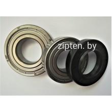Ремкомплект подшипники 6203skf, 6204skf, сальник 25x50.55x10/12 для стиральной машины Samsung